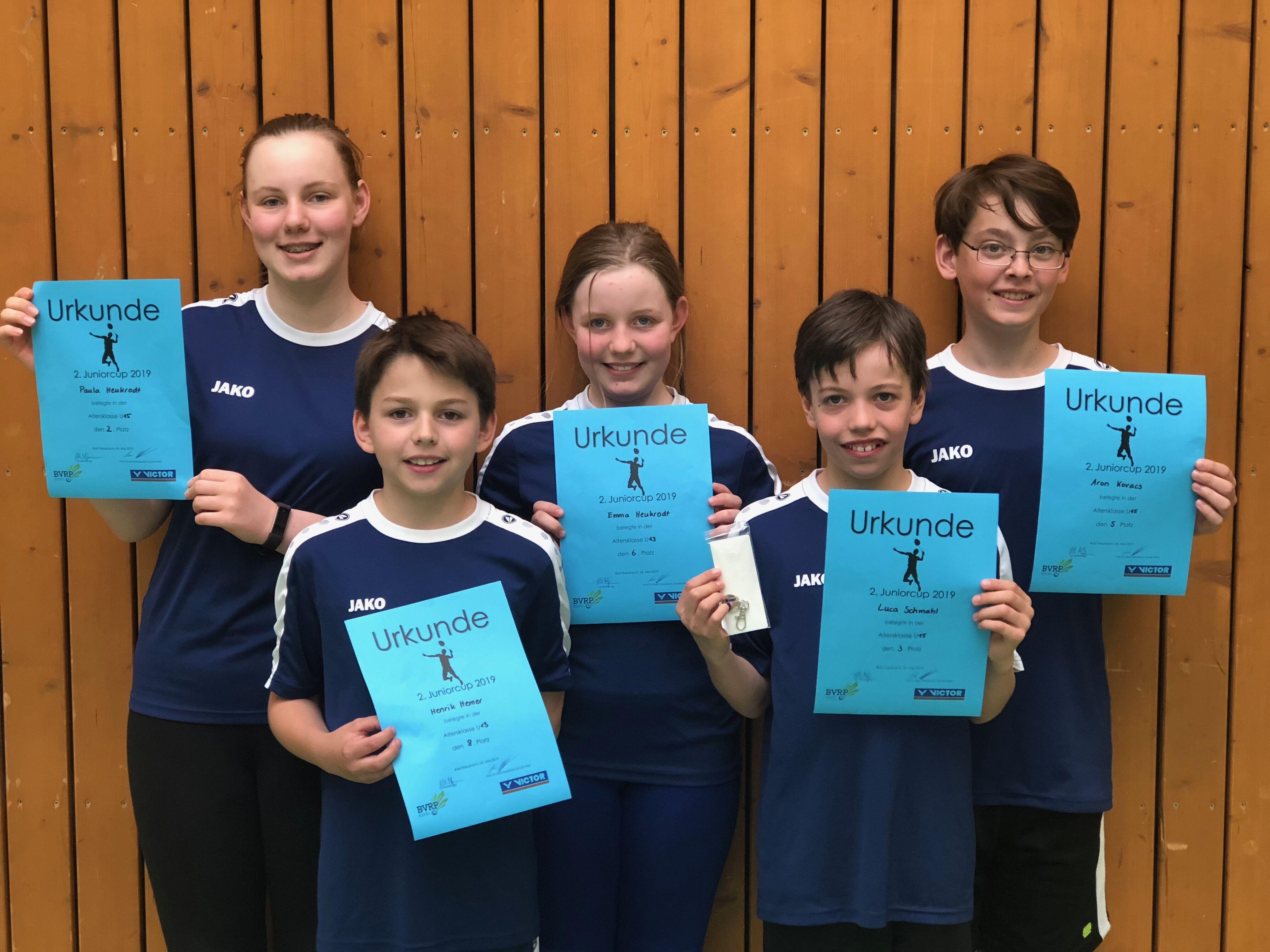 Neuigkeiten von der Essenheimer Badmintonjugend