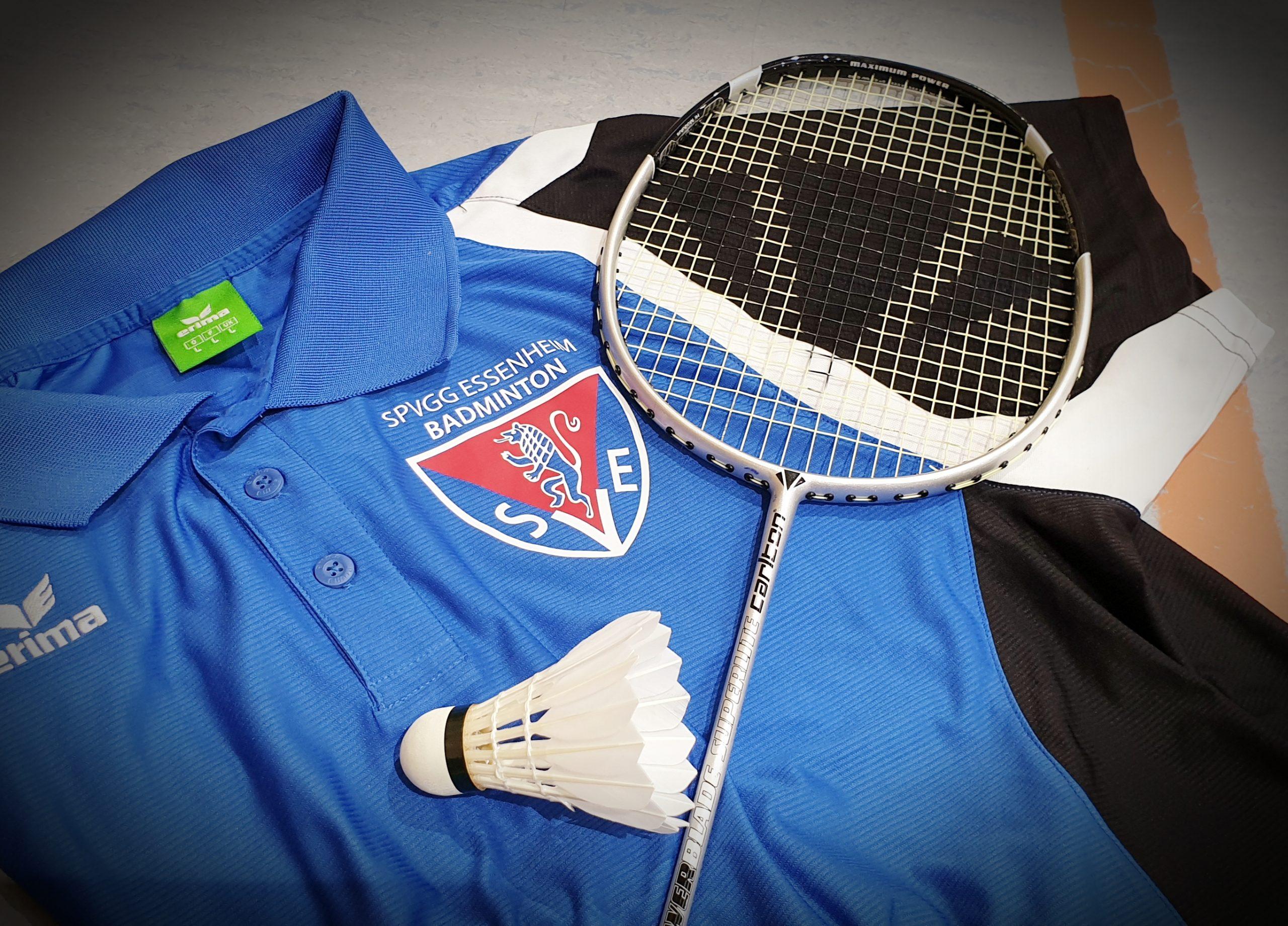 Badminton – Trainingsbetrieb möglich