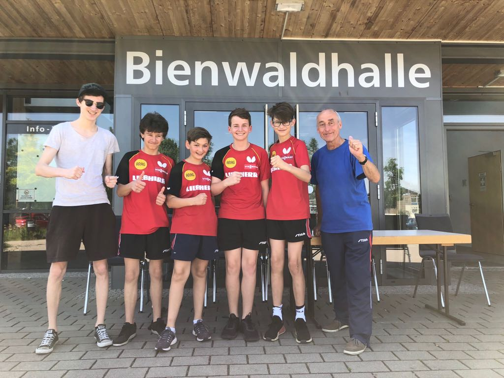 Essenheimer Schülermannschaft löst DM-Ticket